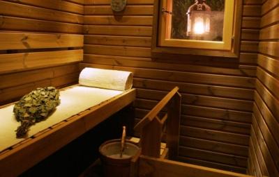 Snowangel A6, sauna