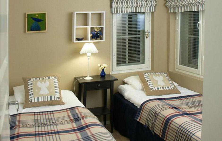 Levi Snowangel B3, beige bedroom.