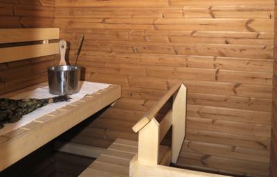Levi Snowangel B3, sauna.